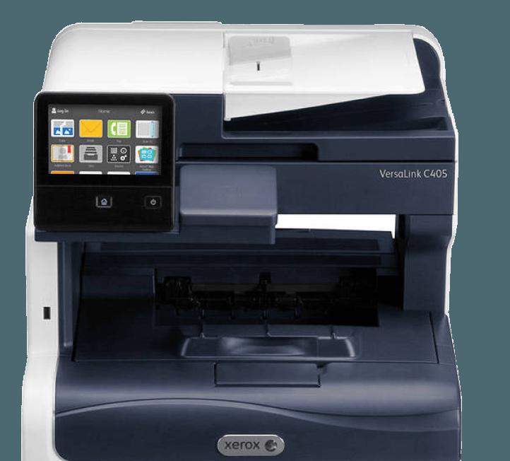 impressoras multifunções Versalink de frente