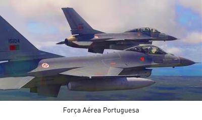aviões da força área portuguesa no céu que são clientes em multifuncional