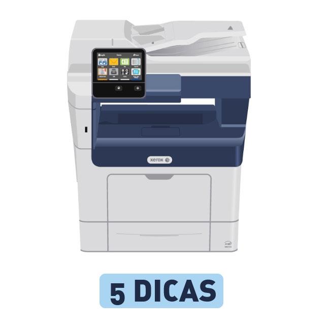 Versalink de frente para assistência técnica de impressora