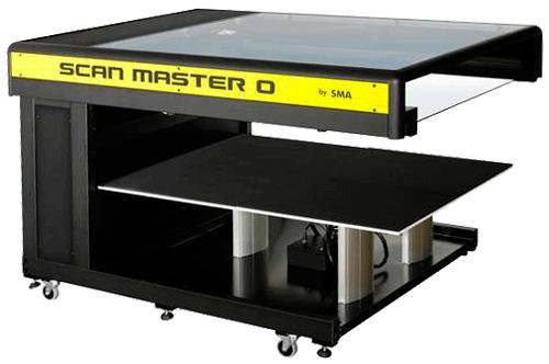 Scanner de livos Master 0