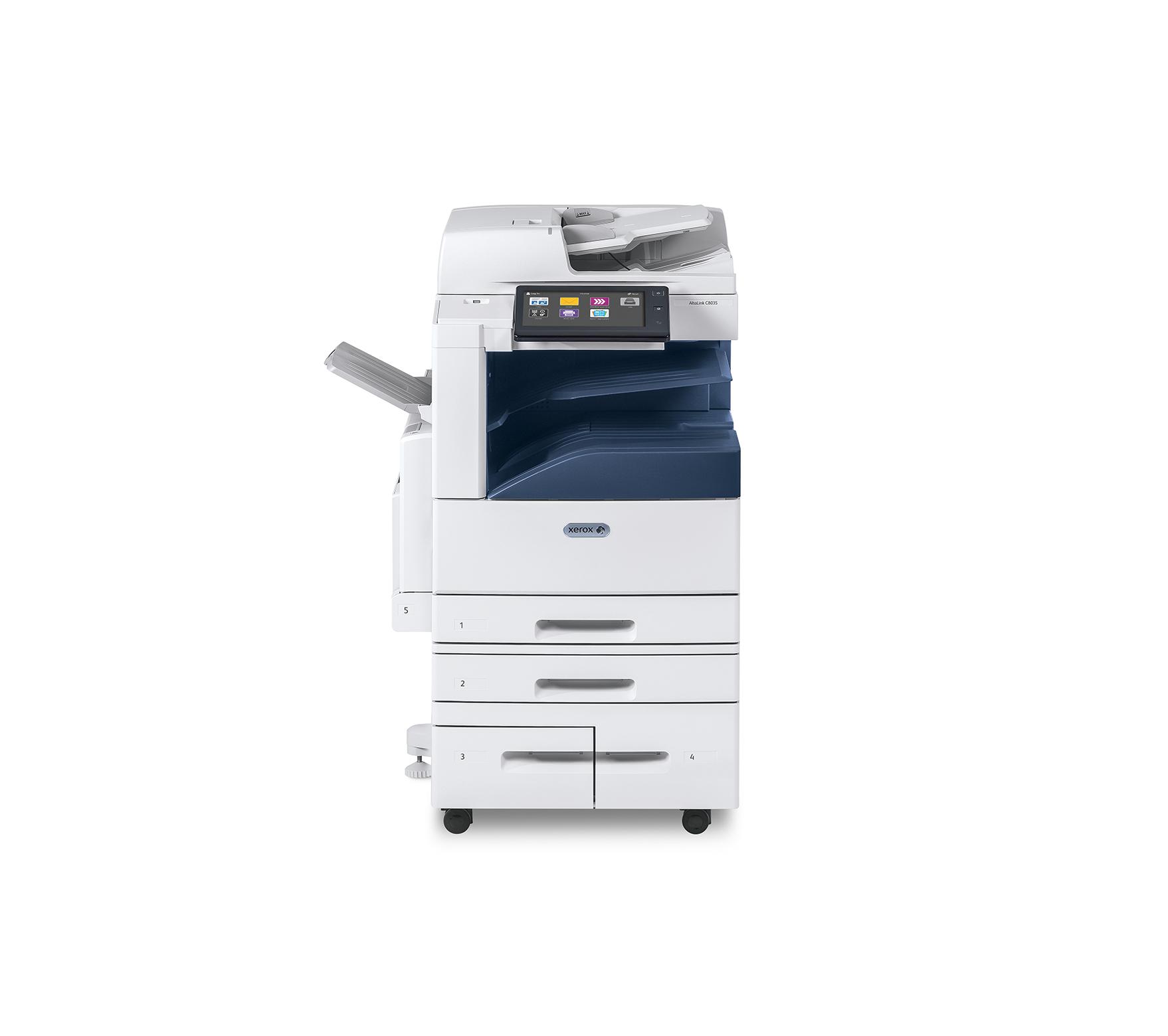 Impressora Xerox C8030 pertencente ao aluguer impressoras